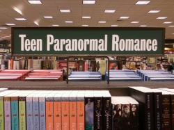 paranormal ya romance