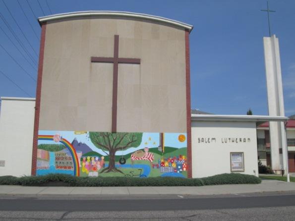 salem lutheran mural