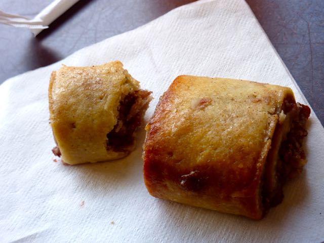 Gluten-free rugelach at Powell's Bookstore
